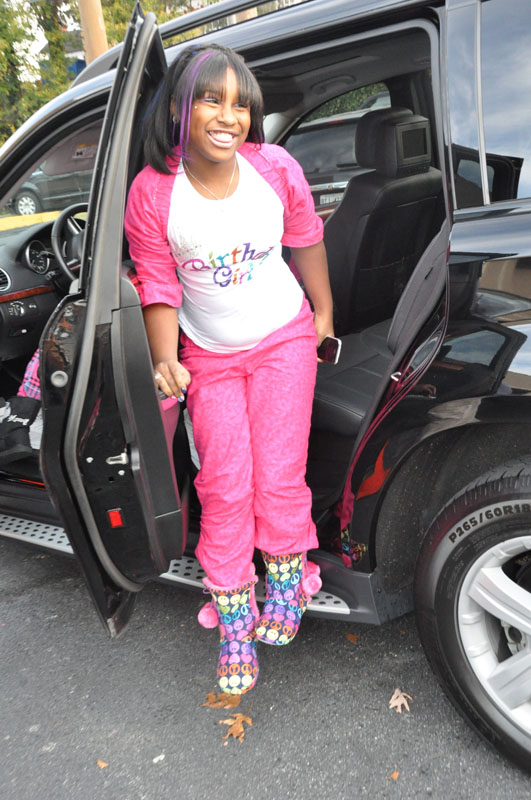 A pajama party was held for Lil Wayne's oldest child, daughter, Reginae over