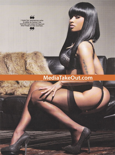 nicki minaj bikini. Nicki Minaj King Spread.