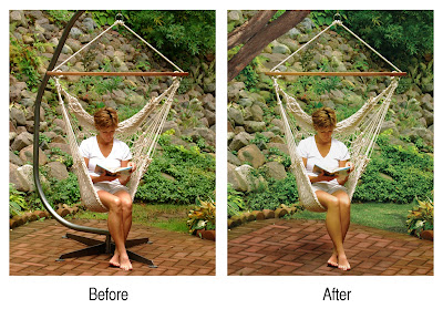 Photoshop/editing-hammock/swing