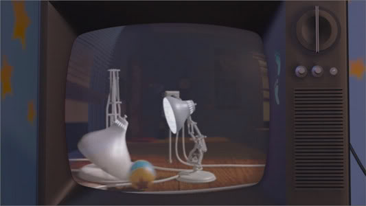 pixar lamp animation. pixar lamp ball.