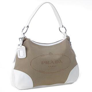 Prada Logo Jacquard Messenger Bag