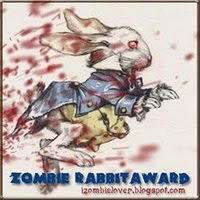 PROUD WINNER ZOMBIE RABBIT AWARD