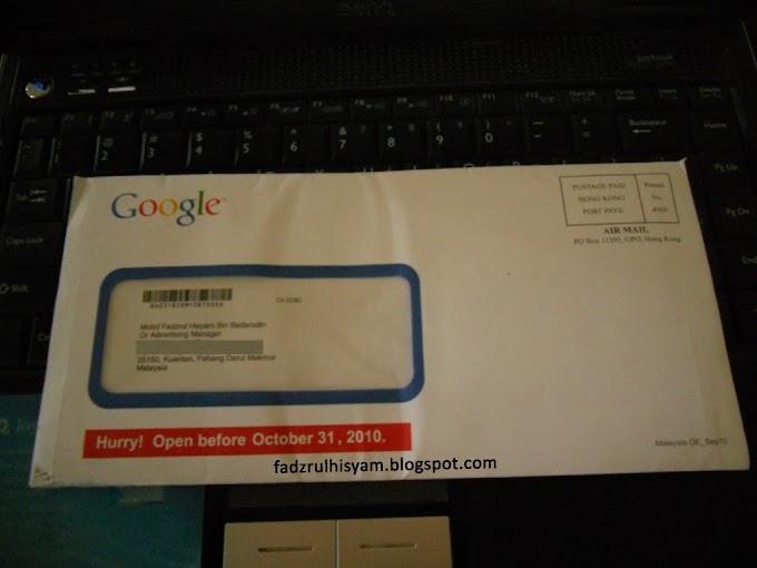 Surat cinta dari Pak Cik Google