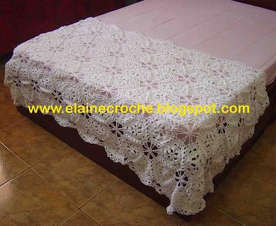 Elaine croche manta para cama em croche - Ikea mantas para camas ...