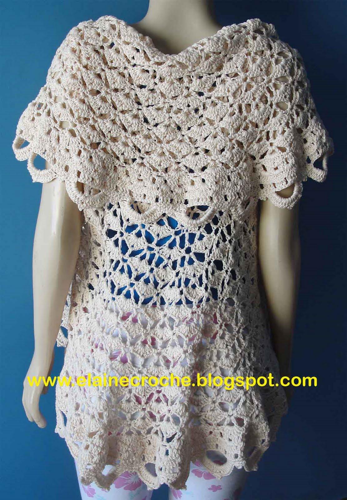 As peças de Crochê, Tricô e Bordado mostradas no blog estão