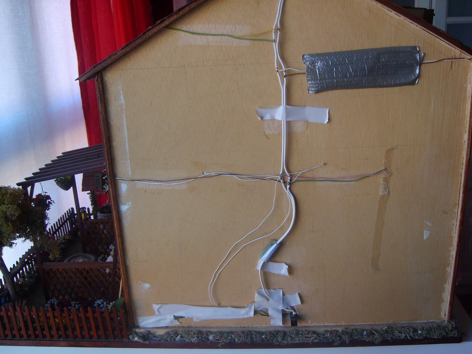 Minitink casa r stica vii - Instalacion electrica vista ...