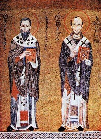 св. Василий Велики и св. Йоан Златоуст