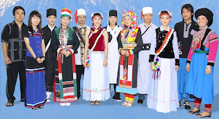 Seven Kinds of Lisu Dresses