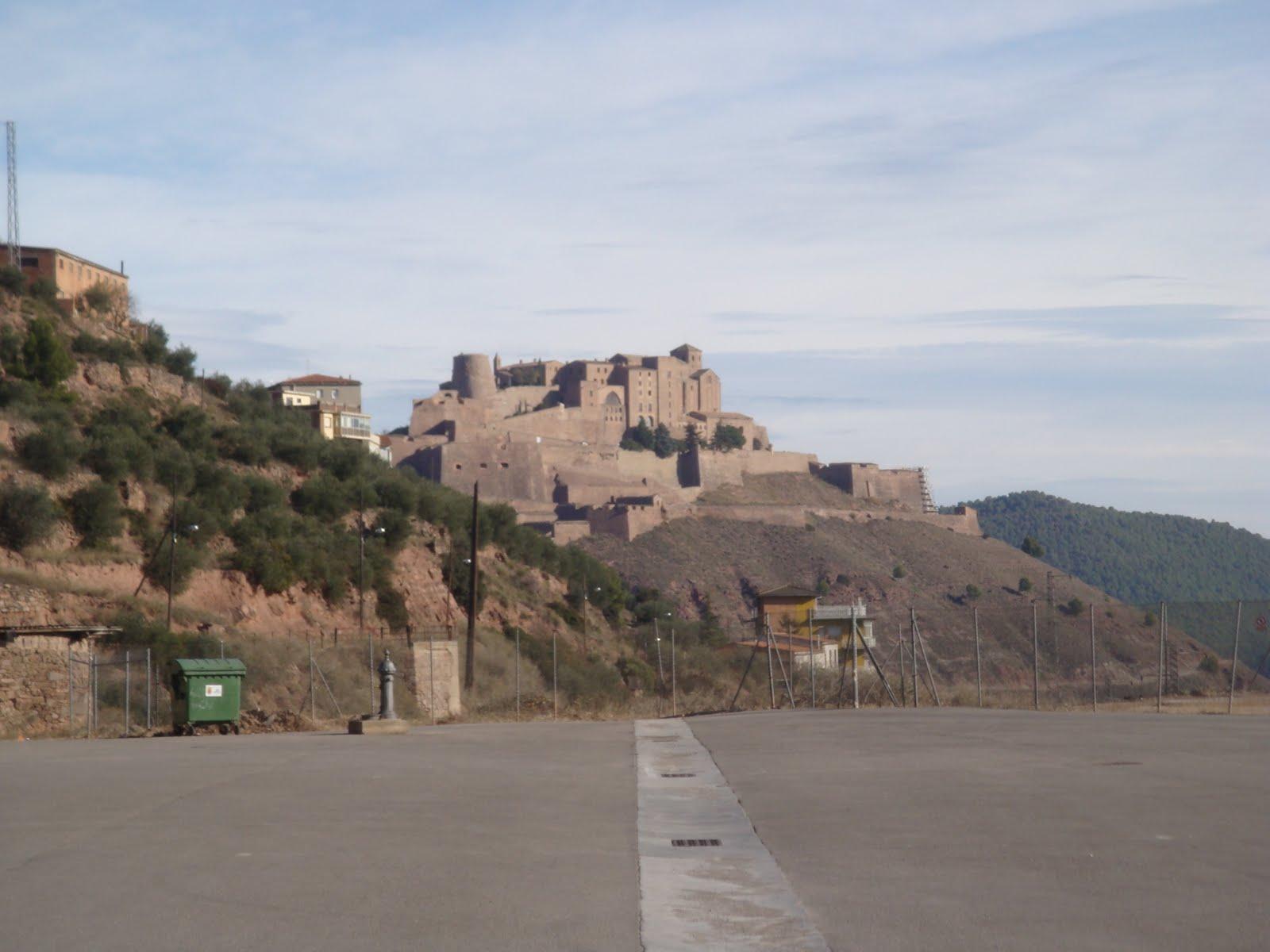 Its a small world after all...: El Castell de Cardona