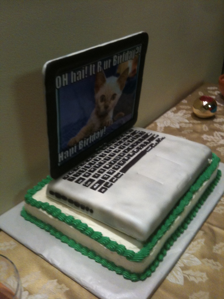 How To Make A Laptop Cake Keyboard