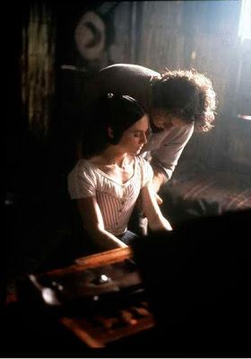 Holly Hunter y Harvey Keitel en El Piano