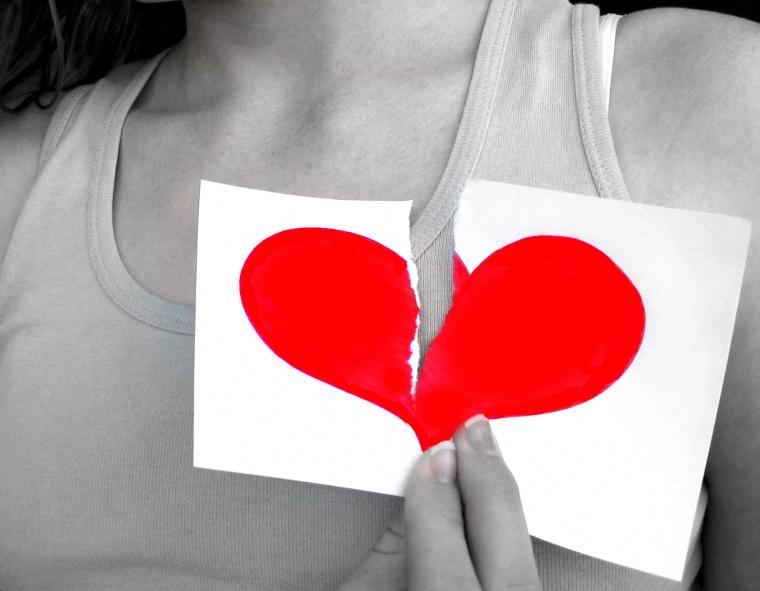 Fotos De Amor Roto - Frases de corazón roto