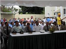 Con varias actividades celebran día del Patrón de la PN en San Pedro de Macorís.