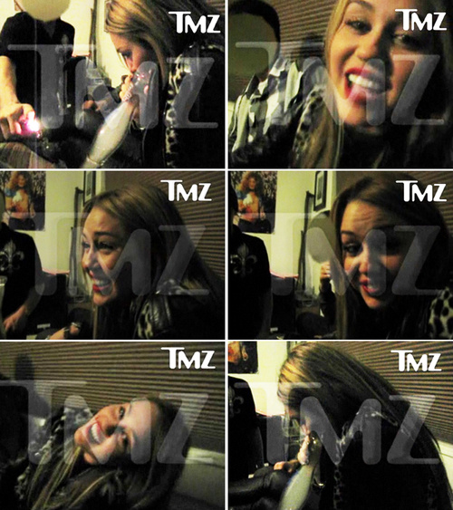 miley cyrus smoking pot pictures. Milley Cyrus Smoking Bong