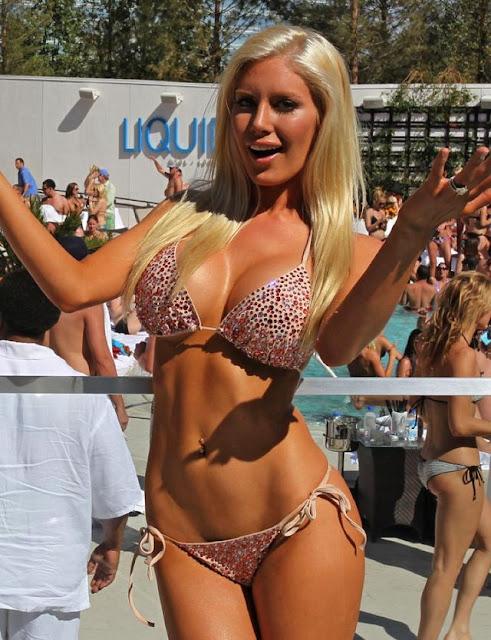 Heidi Montag Beach Body