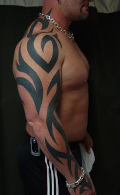 manga tatuaje tribal