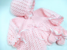 Pink Baby Sweater Set