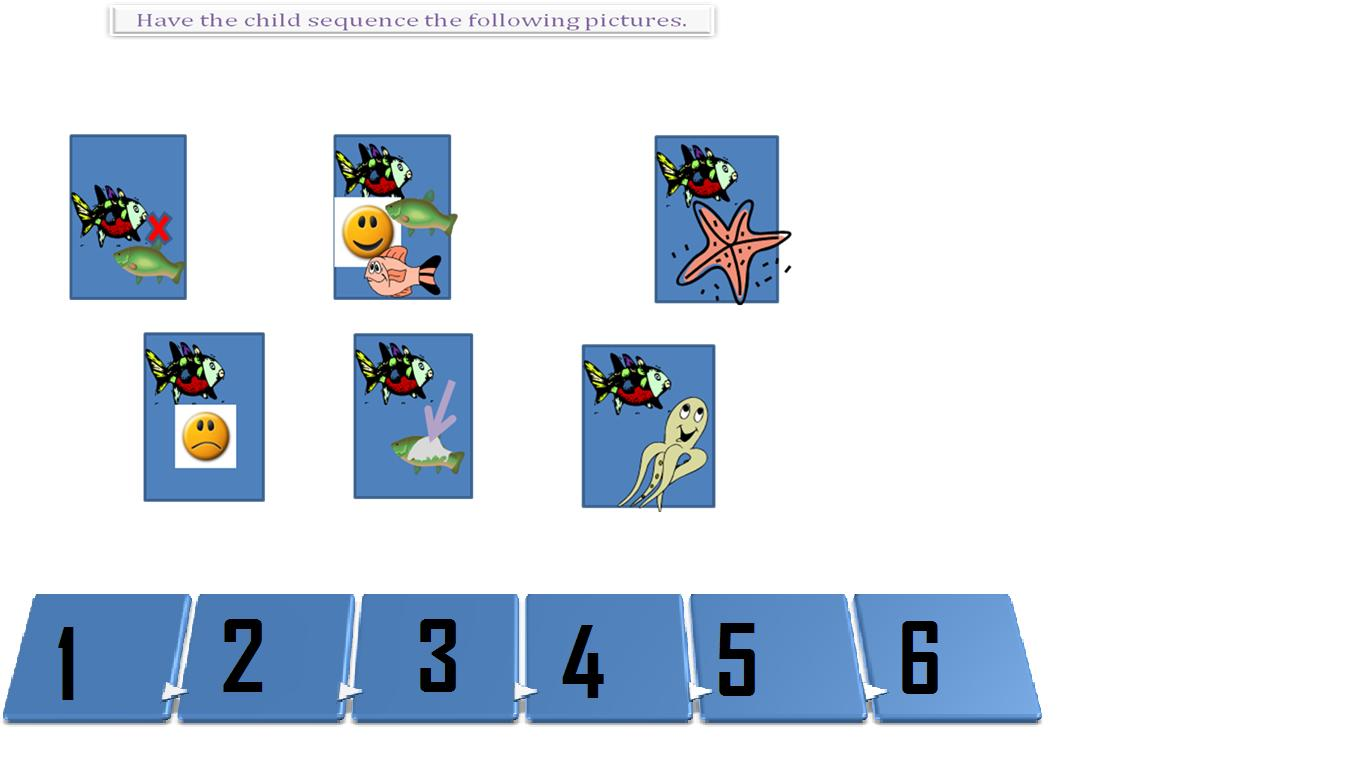 The Rainbow Fish: Sequencing Worksheet