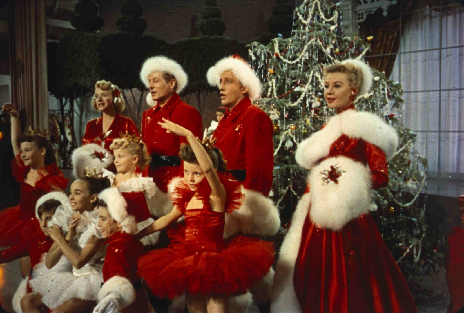Diary of a celluloid girl white christmas my favorite for Who wrote the song white christmas
