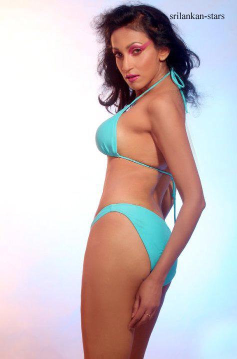 Hottest Bikini photo shoot of Chandi Perera