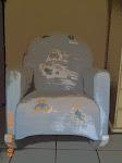 Cadeira amamentar