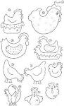 Riscos galinhas