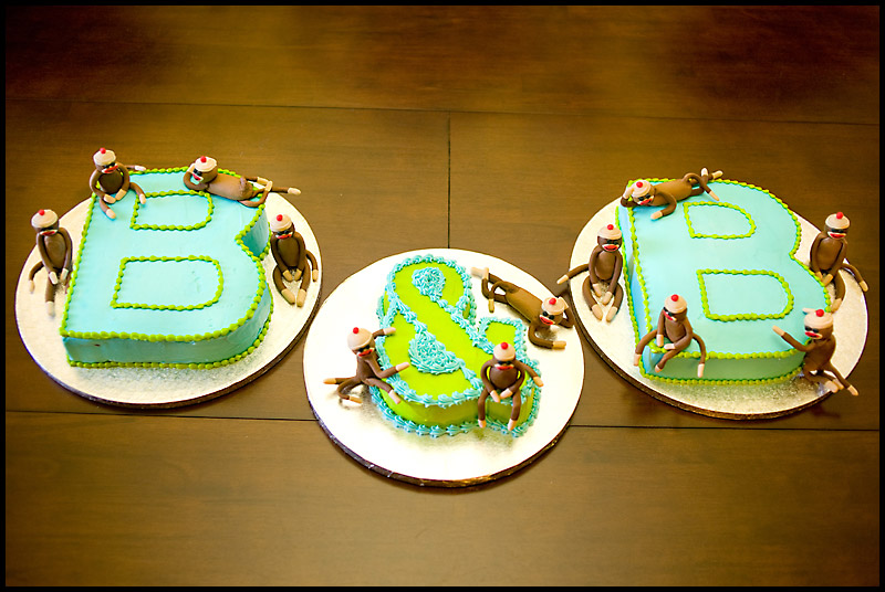 Berg Twins The Boys First Birthday Cakes