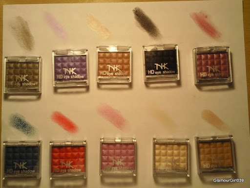 Nicka K. HD SIngle HD Eyeshadows