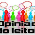 Opinião dos Internautas: E-mails, recados e comentários.
