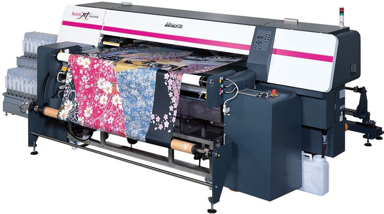 machine to print on fabric