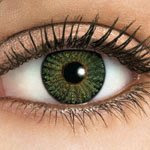 green color contacts