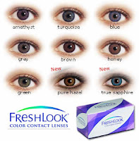 Freshlook Colorblends color contacts