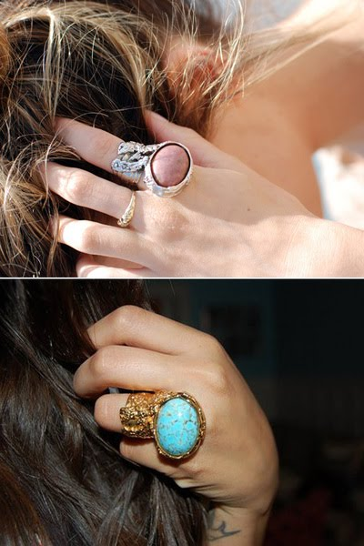 Yves Saint Laurent Summer 2012 Rings - becomegorgeous.com