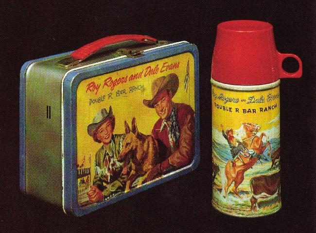 Cardboard lunchbox photo box