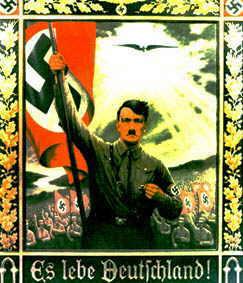 POSTERS TOTALITARIOS Hitler-UpLeft