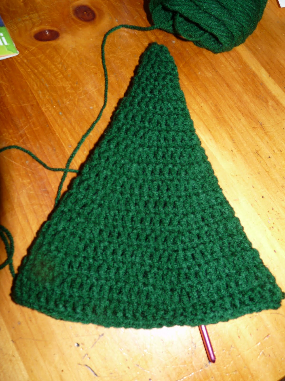 Crochet Christmas Tree Pattern  Cone picture a948d5b63b9