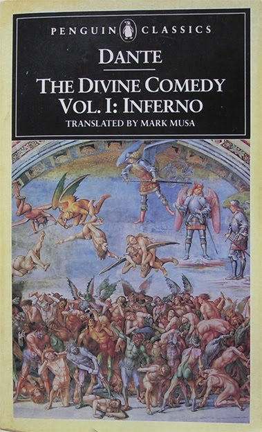 an analysis of the part inferno in dante alighieris poem the divine comedy Indeed, dante uses the themes of reason and faith in his divine comedy to prove the necessity of a separate church and state his argument begins with a strong argument for faith in the inferno, is founded.