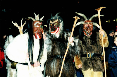 The Drunken Severed Head: Hairy, scary Bavari-an Christmas