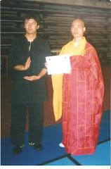Sifu Yan Ming y Sifu David Morales