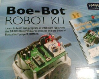 Boe Bot Robot Great Basic Stamp Programming Flexibility