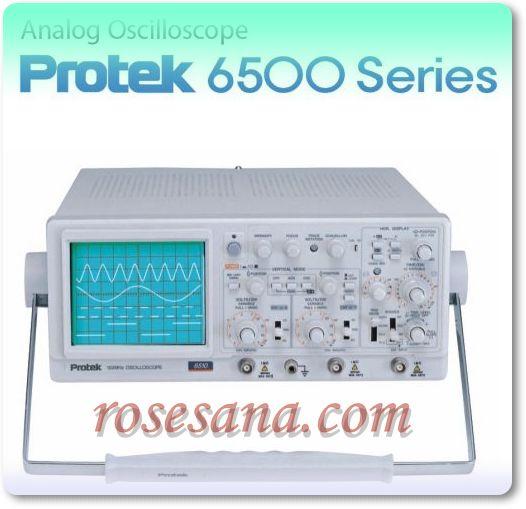 Pro Tek Oscilloscope : R hardware electronics protek series analog