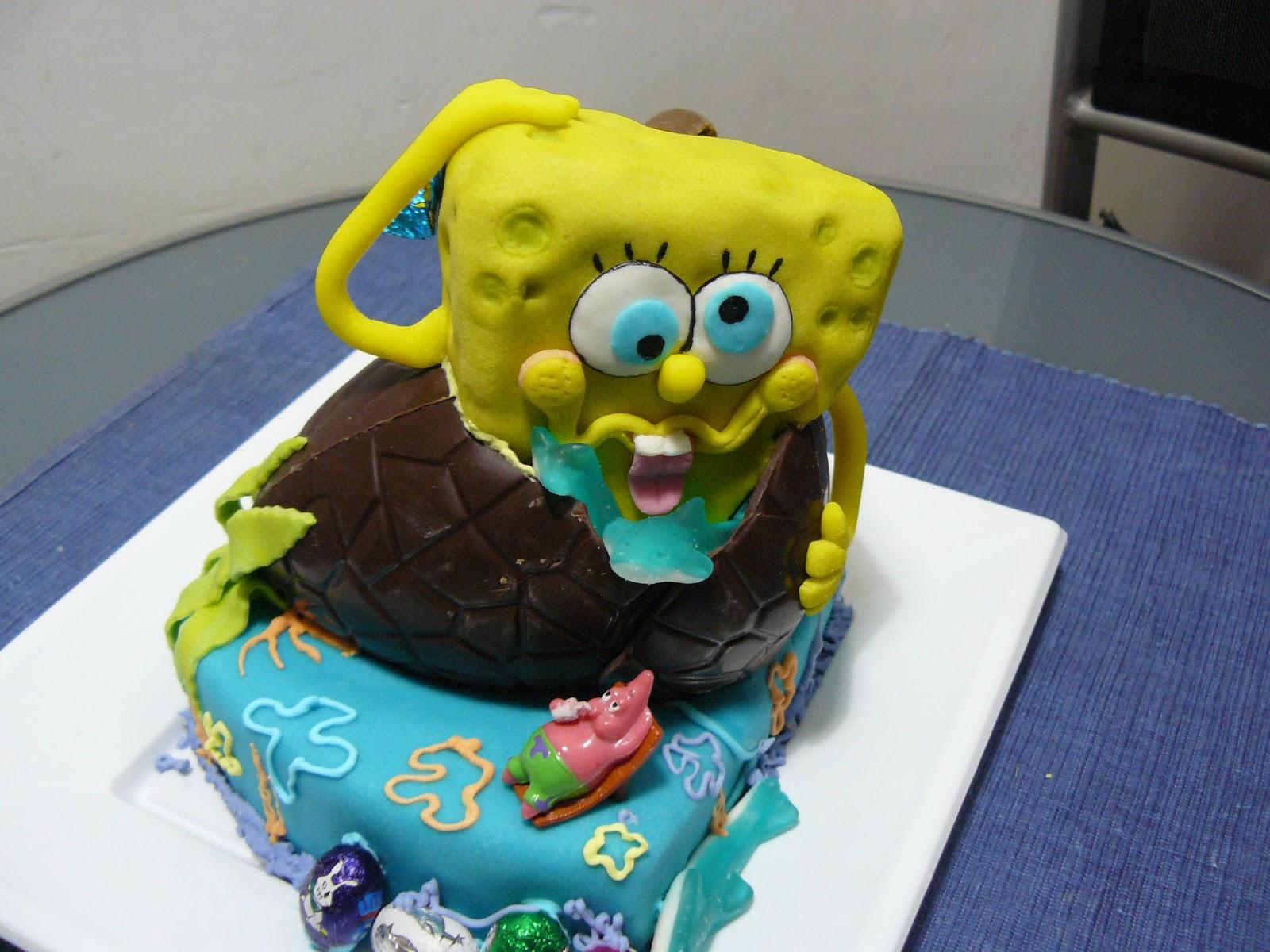 Dolly 180 s cake mona de pascua bob esponja