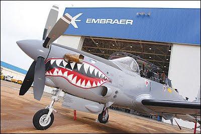 ATUALIZADO:Embraer estuda novo avião militar com parceria da Índia