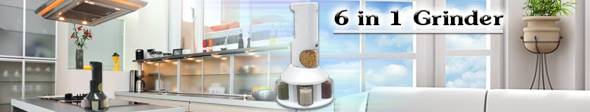 Enjoy cooking with 6 in 1 Grinder!