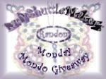 Random Monday Mondo Giveaway