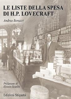 Le liste della spesa di H.P. Lovecraft, 2007, copertina