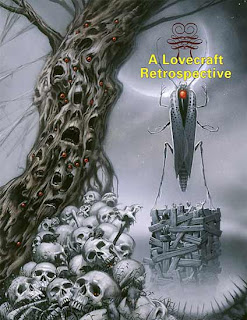 A Lovecraft Retrospective, 2008, copertina di Michael Whelan