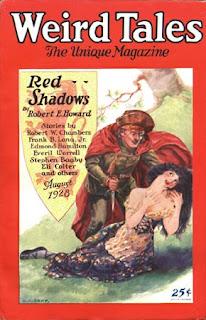 Weird Tales, august 1928, copertina