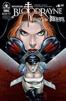 BloodRayne Butcheress comic cover