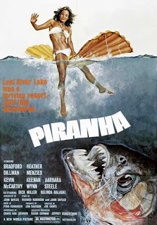 Piranha 1978 film poster